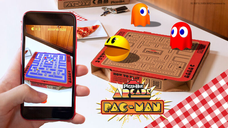 Augmented Reality Pizza Boxes