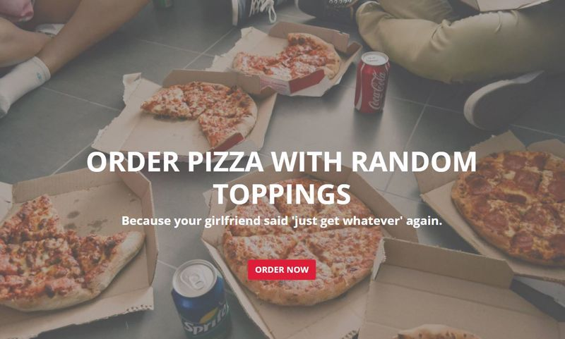 Randomized Pizza Platforms