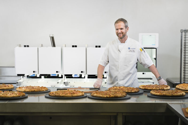 Automated Pizza Servers
