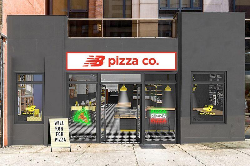 Athlete-Focused Pizzeria Pop-Ups