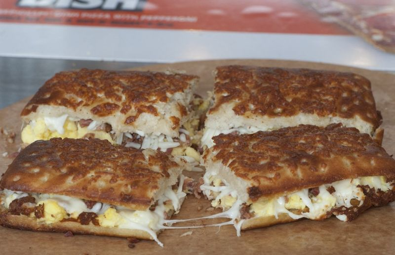 Pizza-Based Breakfast Sandwiches