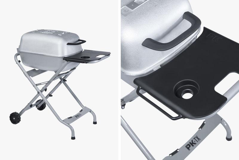 Portable Aluminum Smoker Grills