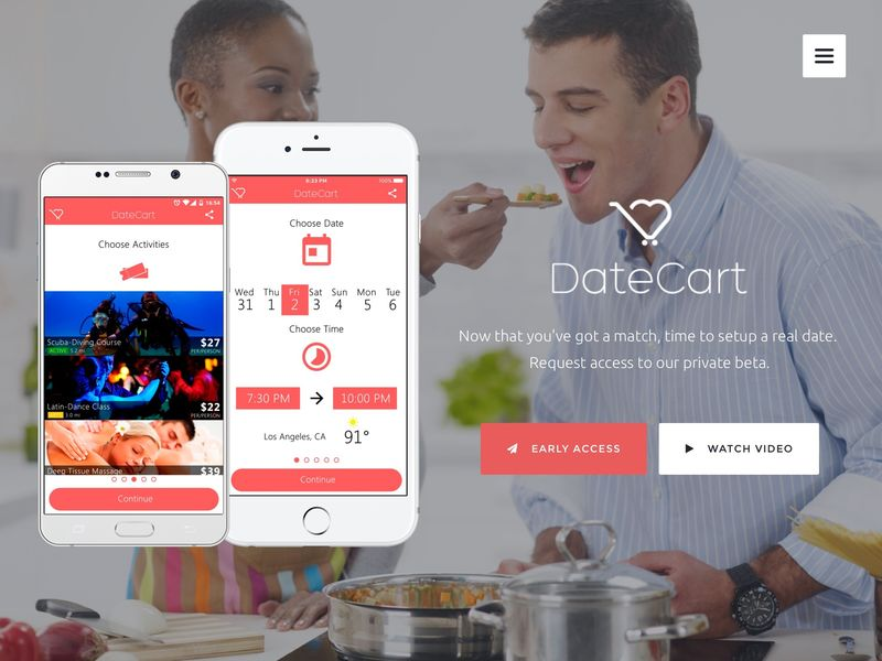 Automated Date-Planning Apps