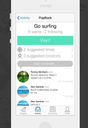 Social Activity-Planning Apps