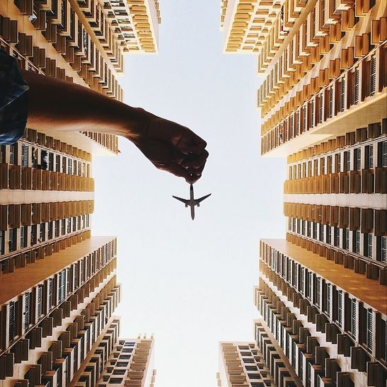 Imaginative Plane Photography