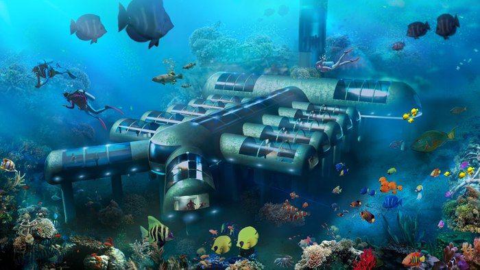 Panoramic Underwater Hotels