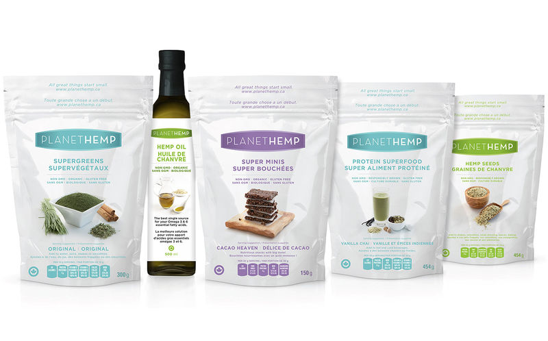 Hemp-Based Superfood Blends