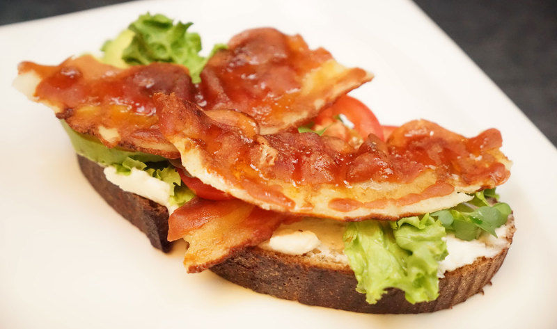 Realistic Plant-Based Bacon