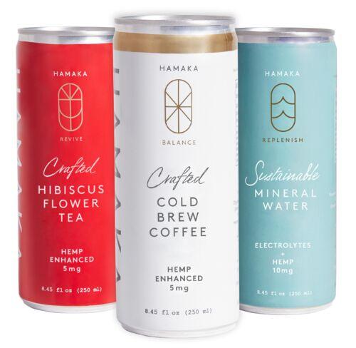 Plant-Based CBD Beverages