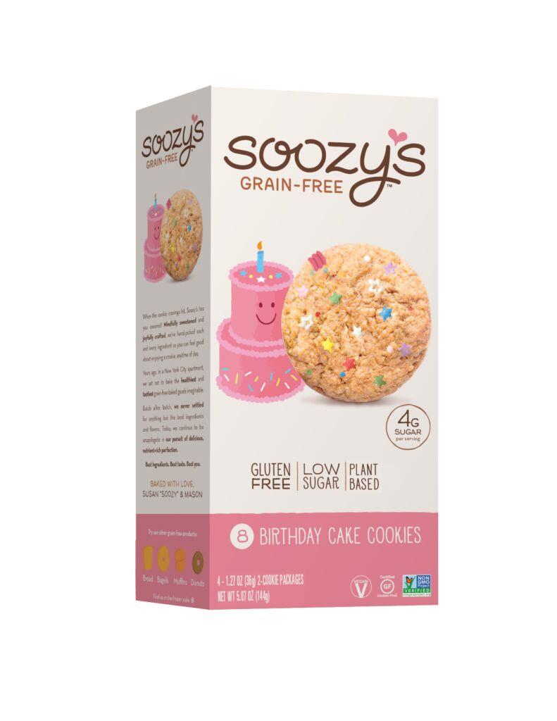 Low-Sugar Plant-Based Cookies