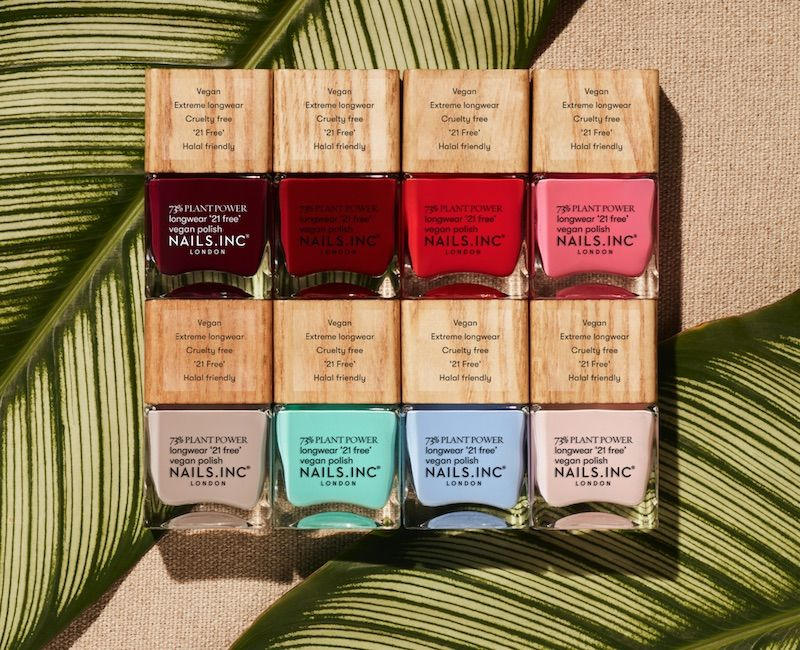 Free-From Plant-Based Polishes