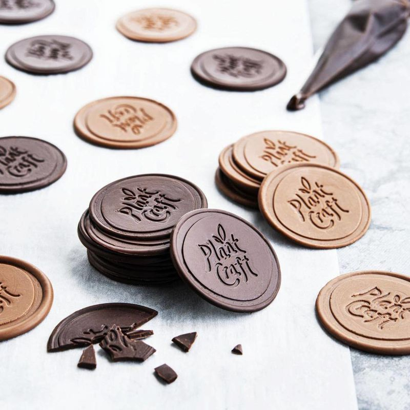 Dairy-Free Chocolate Medallions