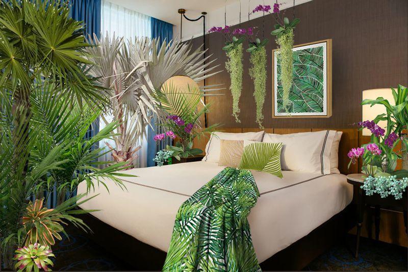 Millennial-Centric Plant Hotel Pop-Ups