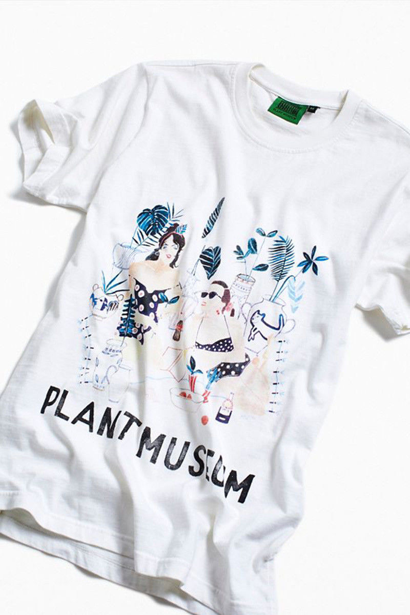 Garden-Themed Graphic Shirts