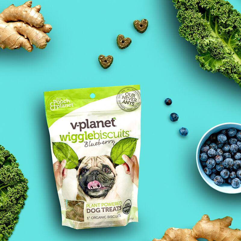 Plant-Powered Dog Biscuits