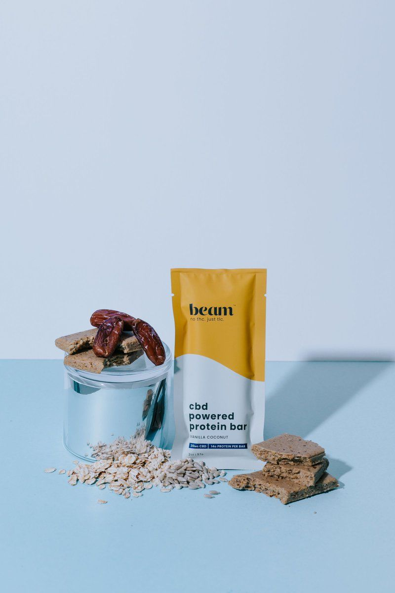 CBD-Packed Protein Bars