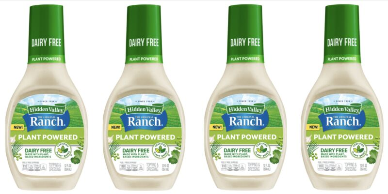 Plant-Based Ranch Dressings