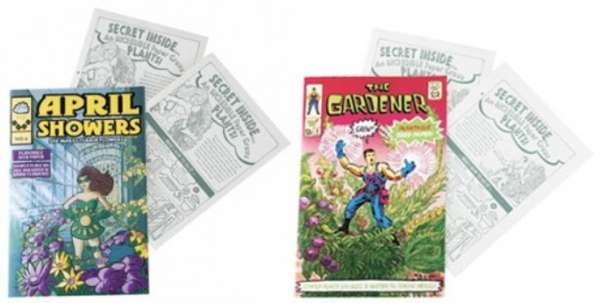 Plantable Comic Books