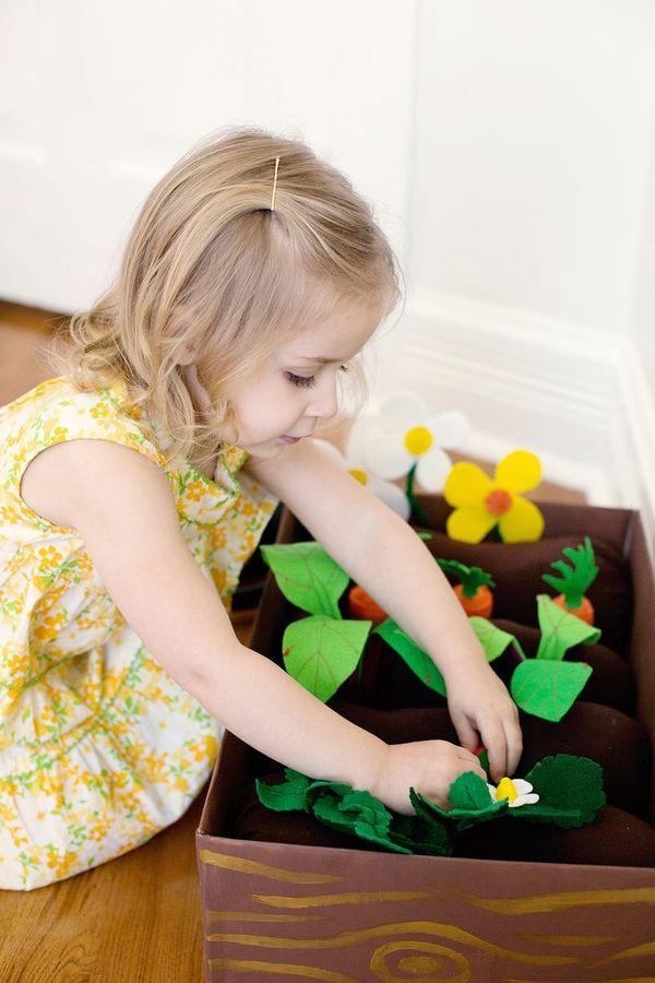 Faux DIY Flower Beds