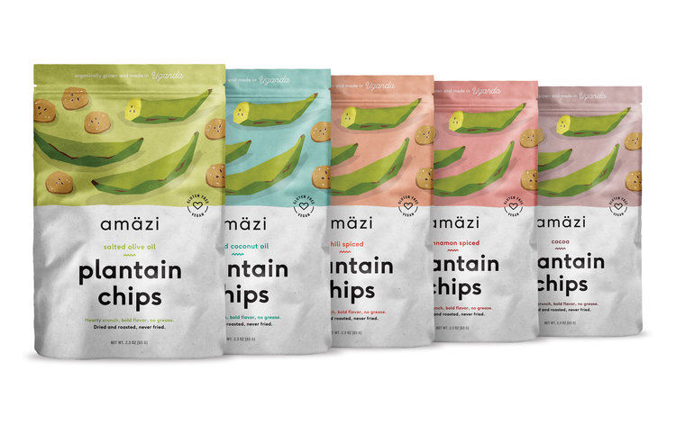 Flavored Plantain Chips