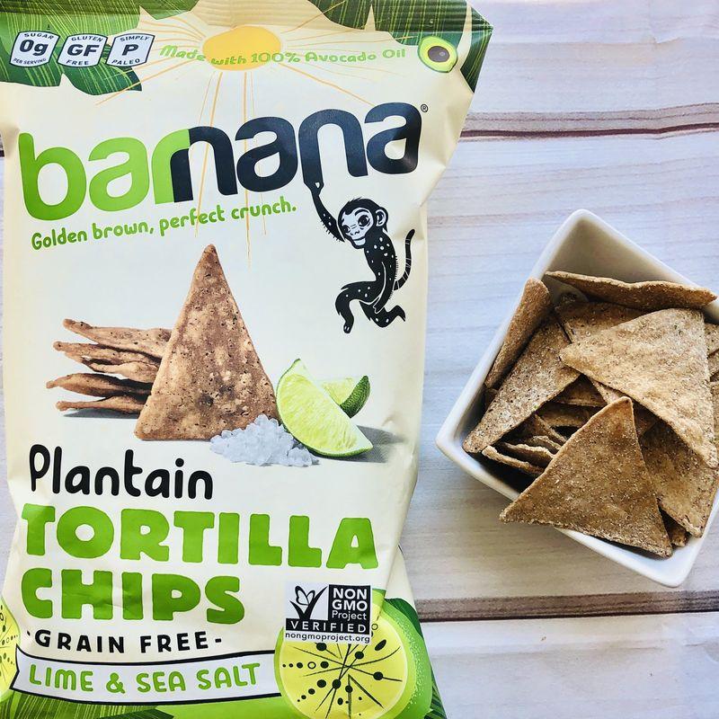 Plantain Tortilla Chips