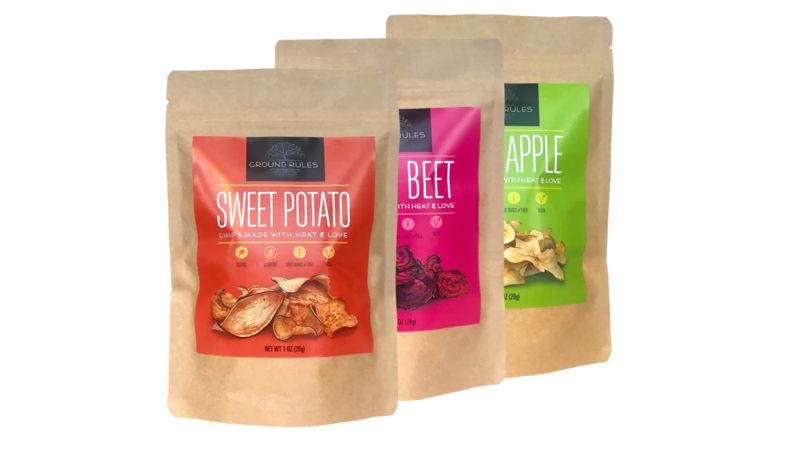 Dehydrated Plant-Based Chips