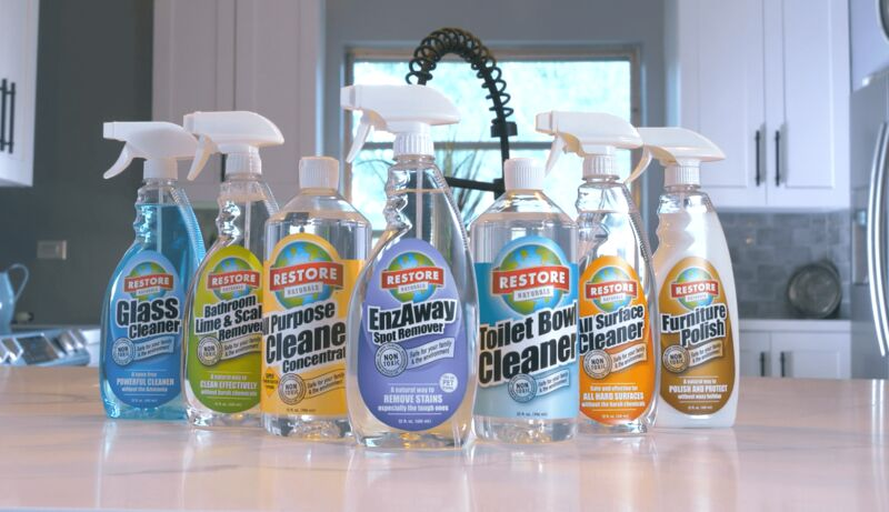 Plant-Based Cleaning Products