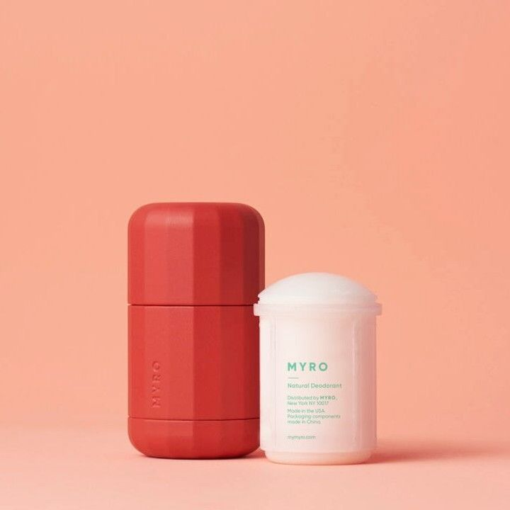 Refillable Plant-Based Deodorants