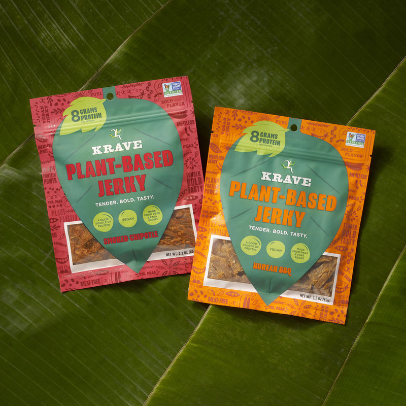 Plant-Powered Jerky Snacks
