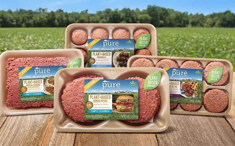 Expansive Meat Alternative Products