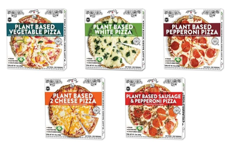 Plant-Based Frozen Pizzas