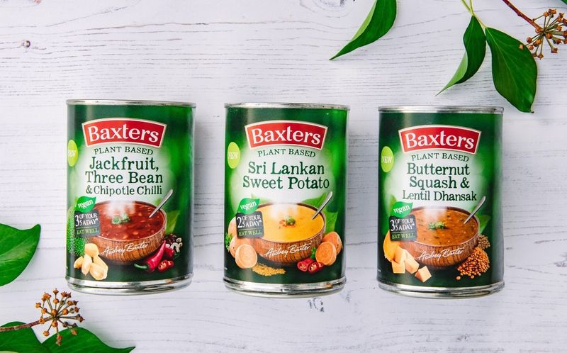 Canned Vegan-Approved Soups