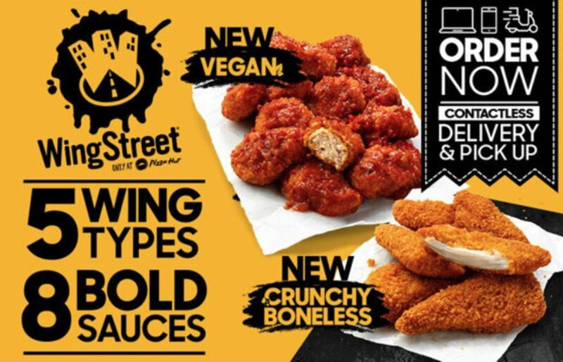 Vegan-Friendly Chicken Wings