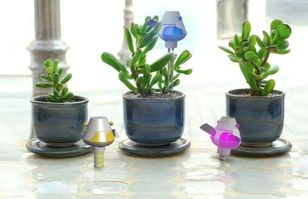 Playful Plant Monitors