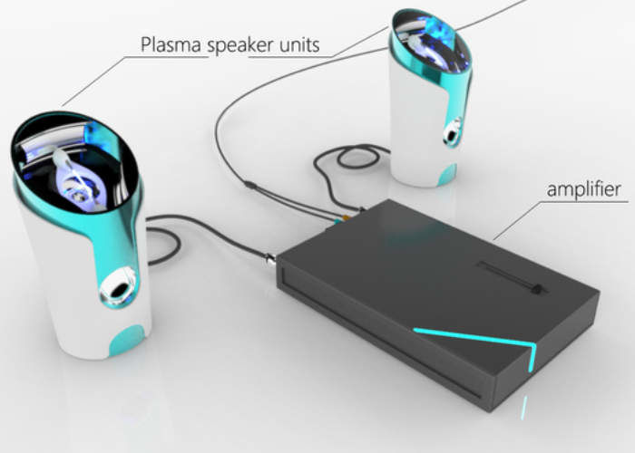 Electric Plasma Speakers
