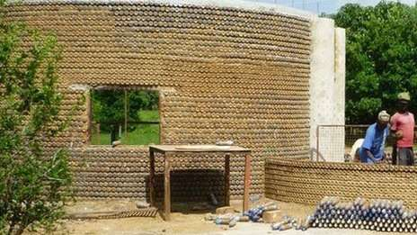 Bullet-Proof Plastic Bottle Homes