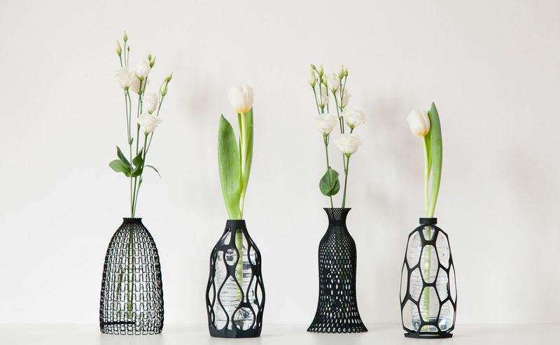 Eco Printed Plant Holders