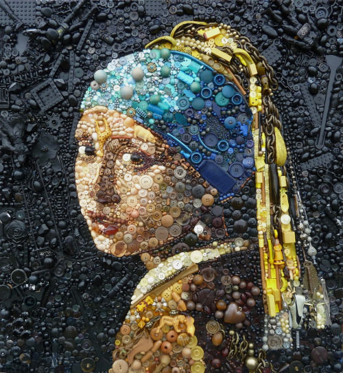 Plastic-Made Artworks