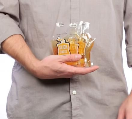 Smuggling-Oriented Plastic Flasks