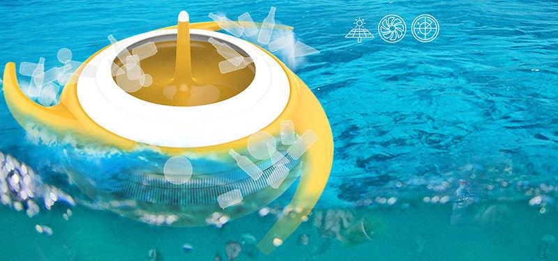 Plastic-Removing Ocean Filterers