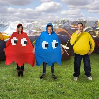 8-Bit Video Game Ponchos