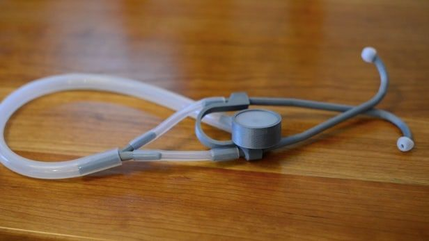3D-Printed Plastic Stethoscopes