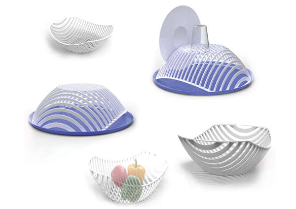Dual-Functioning Dish Racks