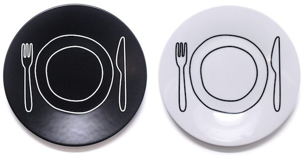 Playfully Illustrated Dishware