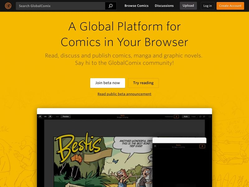Creator-Focused Comics Communities