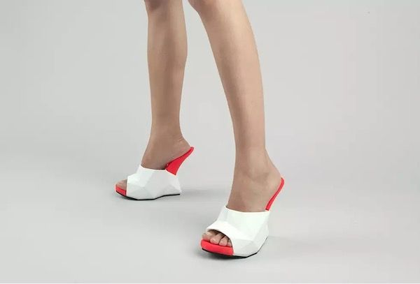 Heelless 3D Printed Footwear