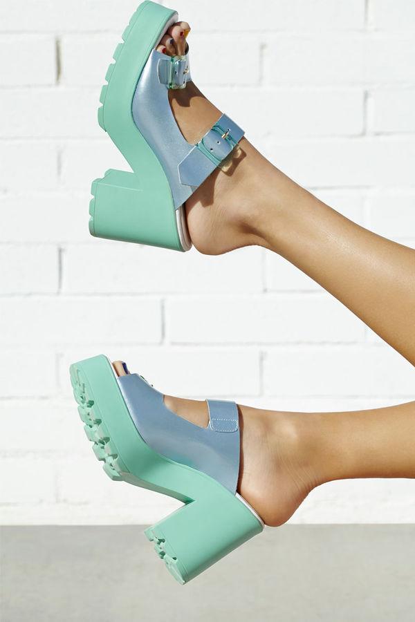 Chic Pastel Platfrom Sandals