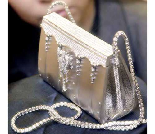 Platinum Handbag