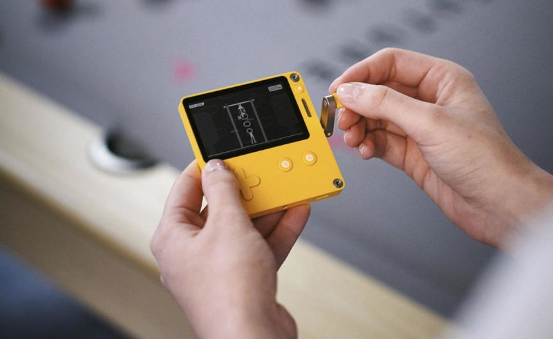 Portable Vintage-Style Game Consoles