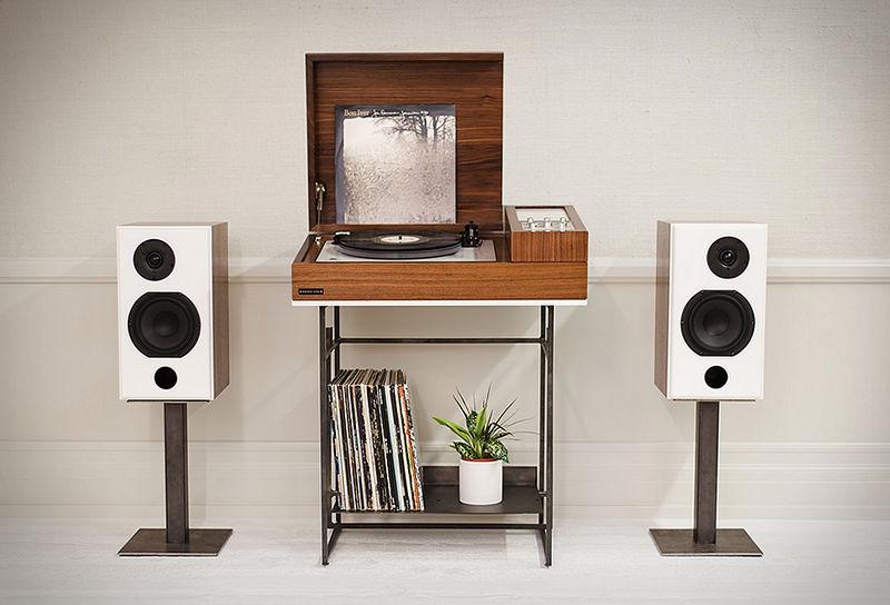 Modernized Record Consoles